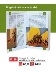 Broszurka informacyjna - miód pszczeli (20szt) - wzór U1