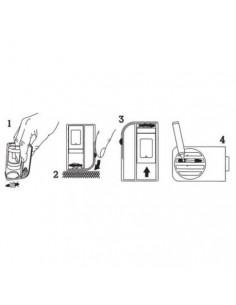 10 Kompletów słoiczków z nakrętkami (30szt) i pudełkami HONEY na 3 słoiczki (10szt) i mini etykietkami - wzór PZ3e