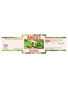 Paczka etykiet na miód rzepakowy (100szt) - wzór E1226