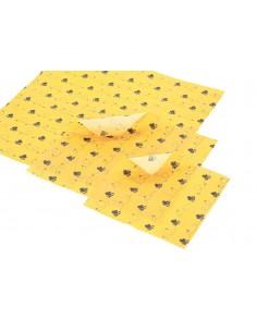 Paczka etykiet na miód wielokwiatowy (100szt) - wzór E601