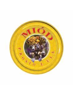 Paczka etykiet na miód rzepakowy (100szt) - wzór E1103