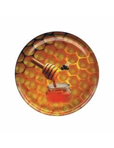 Paczka etykiet na miód nektarowo-spadziowy (100szt) - wzór E1108