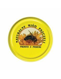 Paczka etykiet na miód wielokwiatowy (100szt) - wzór E1110