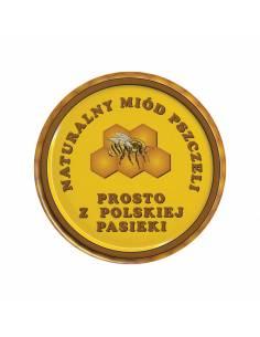 Paczka etykiet na miód mniszkowy (100szt) - wzór E1111