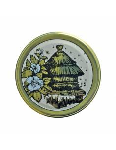 Paczka etykiet na miód wielokwiatowy (100szt) - wzór E1114