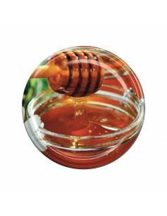 Paczka etykiet na miód nektarowo-spadziowy (100szt) - wzór E35