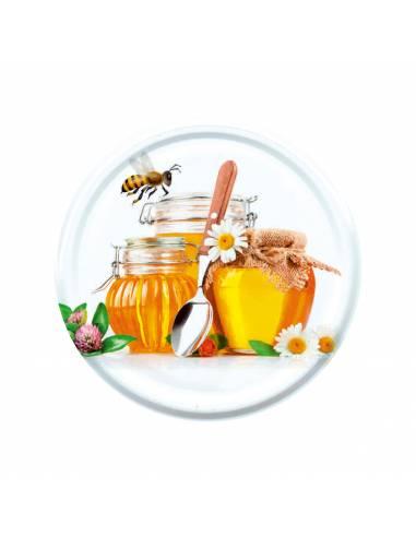 Paczka etykiet na miód lipowy (100szt) - wzór E13