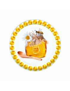 Paczka etykiet na miód gryczany (100szt) - wzór E14