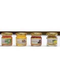 Paczka etykiet na miód wielokwiatowy (100szt) - wzór E41