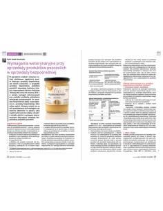 Paczka etykiet na miód wrzosowy 116x50 (100szt) - wzór E1017