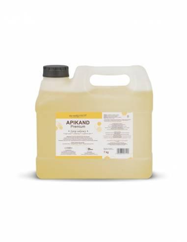 Paczka dużych etykiet na miód wrzosowy (100szt)- wzór E107
