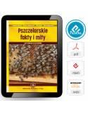 Paczka małych etykiet ze złoceniem (pyłek pszczeli) 10szt - wzór EM37